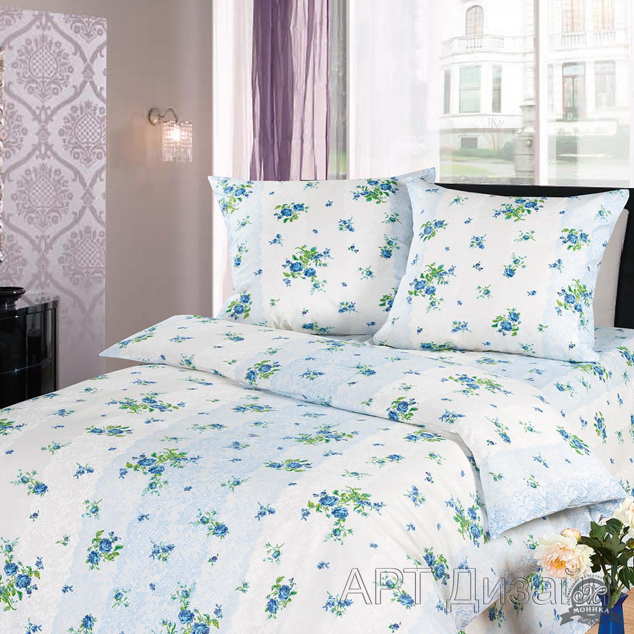 Комплект постельного белья Илона из бязиБязь<br><br><br>Размер: 1,5сп. (2 нав.70х70)