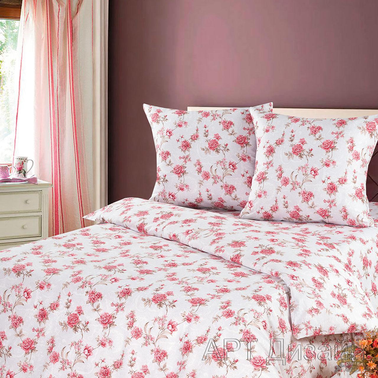 Комплект постельного белья Патриция из бязиБязь<br><br><br>Размер: Евромакси (2 нав.70х70)