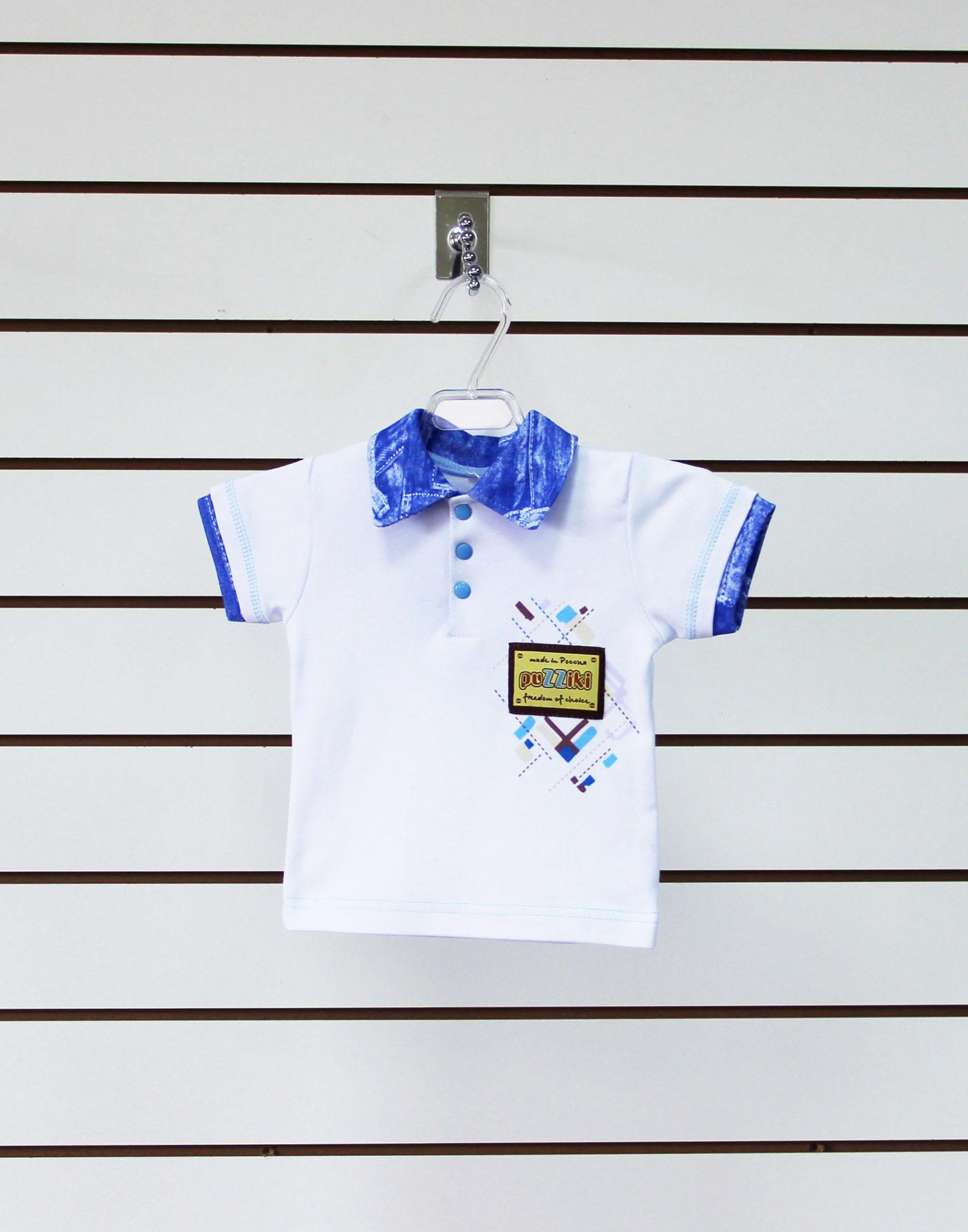 Рубашка детская ПолоМайки и футболки<br><br><br>Размер: 24 (рост 80 см)