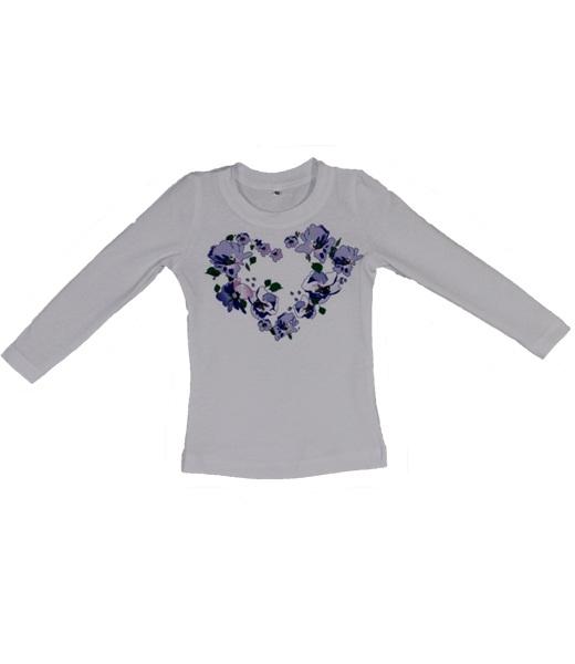 Джемпер для девочки СердцеСвитеры, водолазки, джемперы<br><br><br>Размер: 28 (рост 98-104 см)