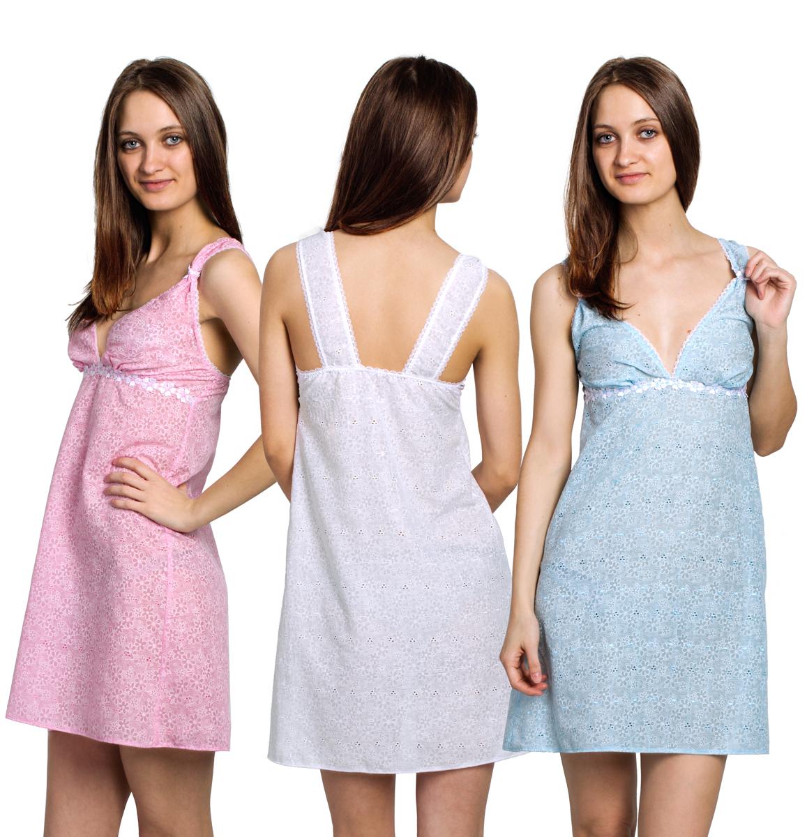 Сорочка ночная ClassicСорочки<br><br><br>Размер: Голубой