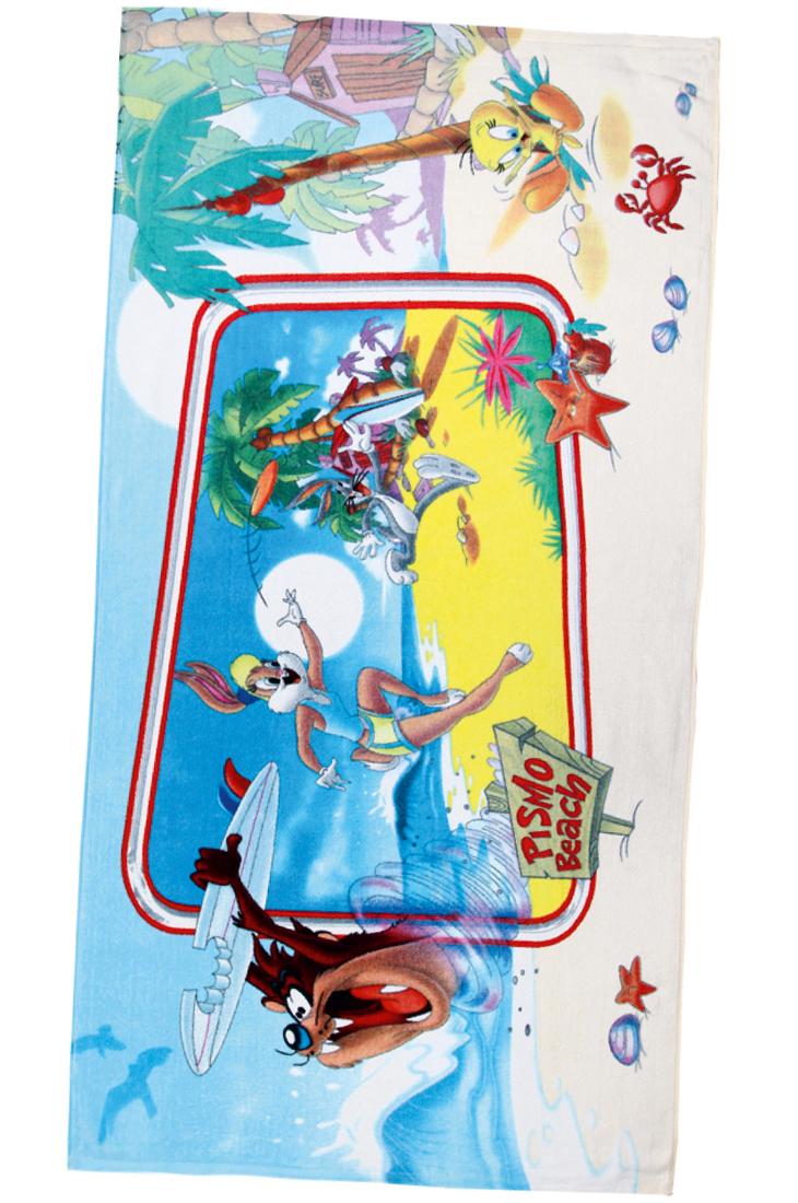 Полотенце Таз и Лола на ГавайяхДетские полотенца<br><br><br>Размер: 70х140