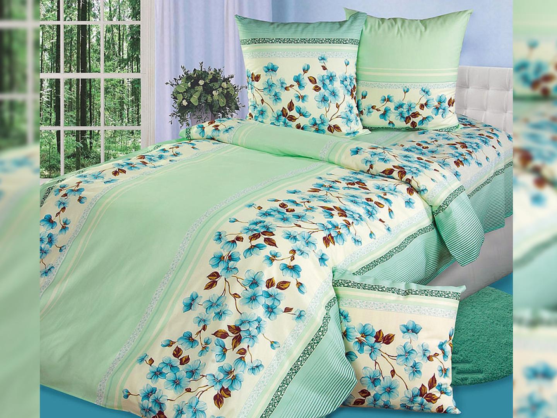 Комплект постельного белья Апрель<br><br>Размер: Семейный (2 нав.70х70)