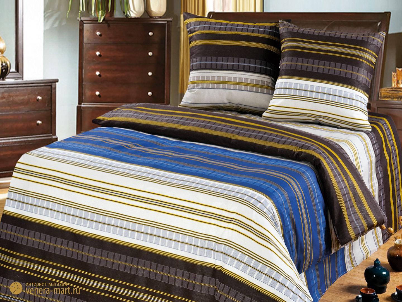 Комплект постельного белья Динамика<br><br>Размер: Евромакси