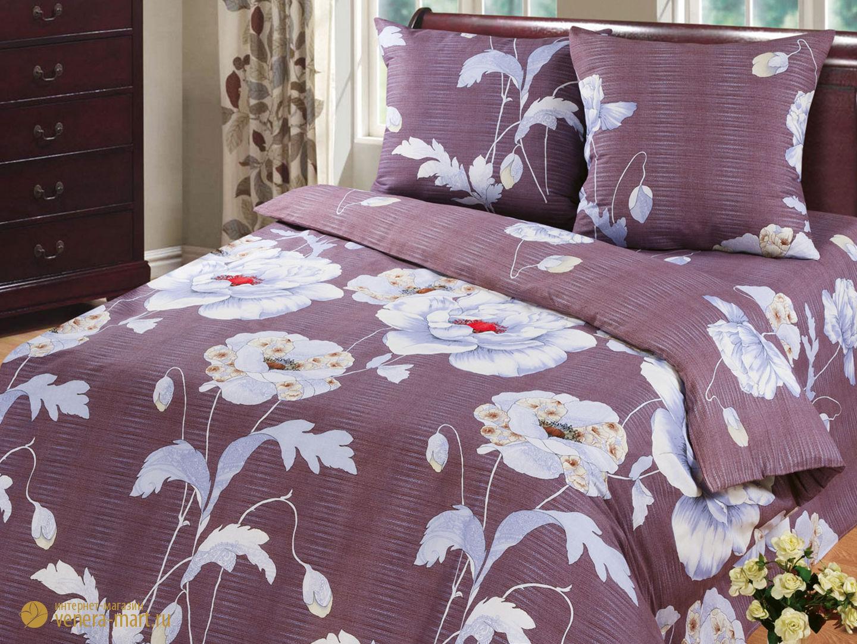 Комплект постельного белья КапучиноБязь<br><br><br>Размер: 1,5 спальный