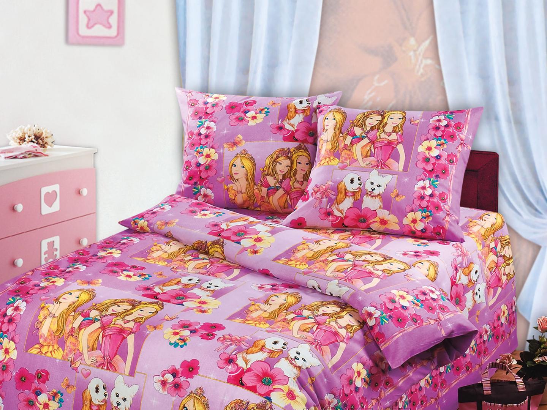 Комплект детского постельного белья КрасавицыДетское постельное белье<br><br><br>Размер: Детский (110х140)