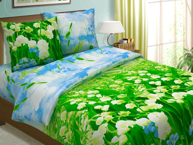 Комплект постельного белья ЛандышиБязь<br><br><br>Размер: 1,5-спальный