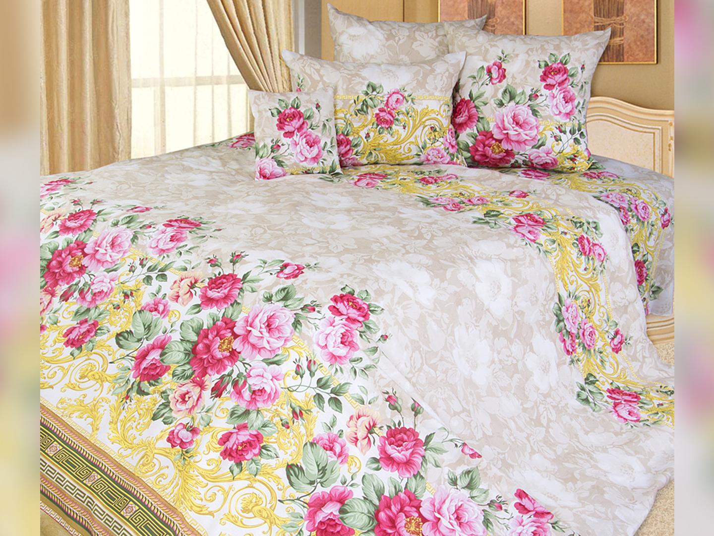 Комплект постельного белья ПарижанкаПодарки к 8 марта<br><br><br>Размер: 2сп (2 нав.70х70)