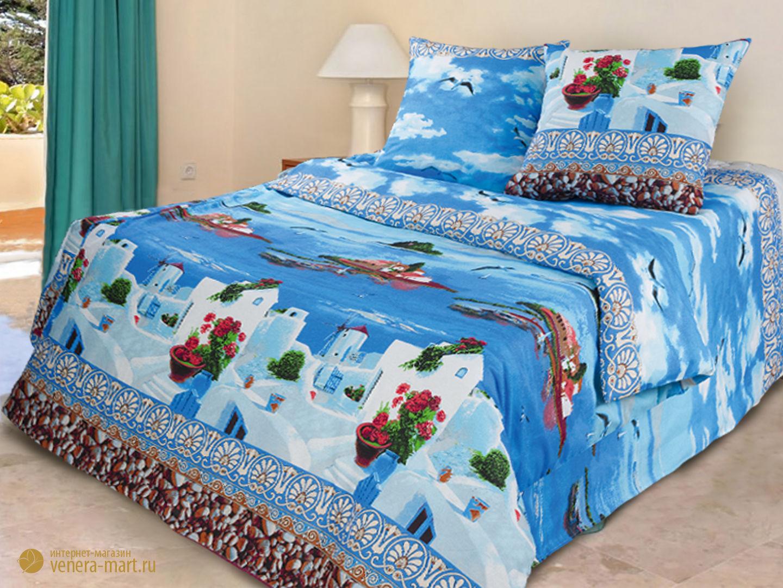 Комплект постельного белья Санторини<br><br>Размер: 1,5-спальный (Наволочки (2 шт.) - 70х70)