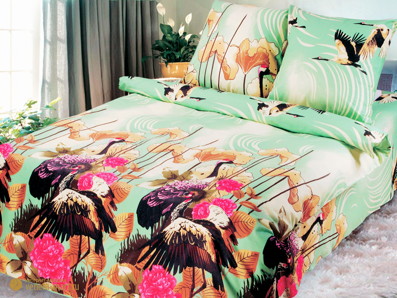Комплект постельного белья Хоккайдо<br><br>Размер: Евромакси, наволочки 70х70