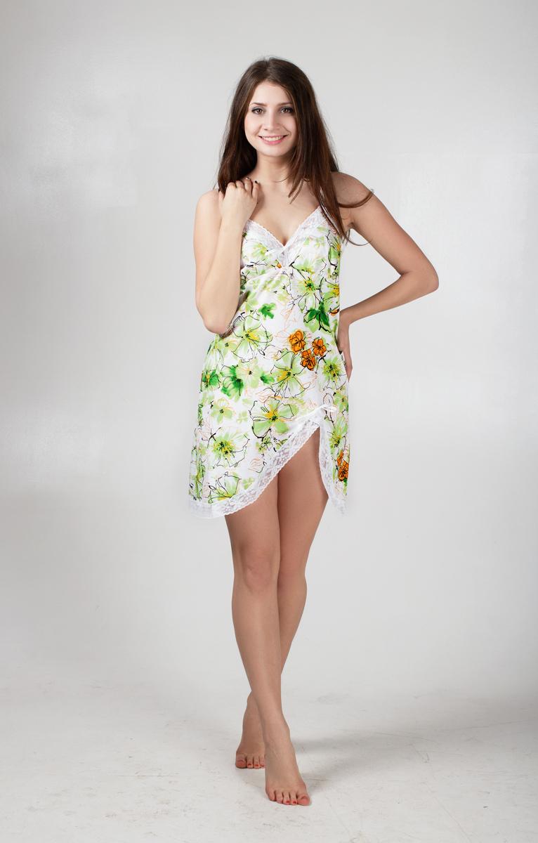 Сорочка ночная Цветы романтикСорочки<br><br><br>Размер: 50