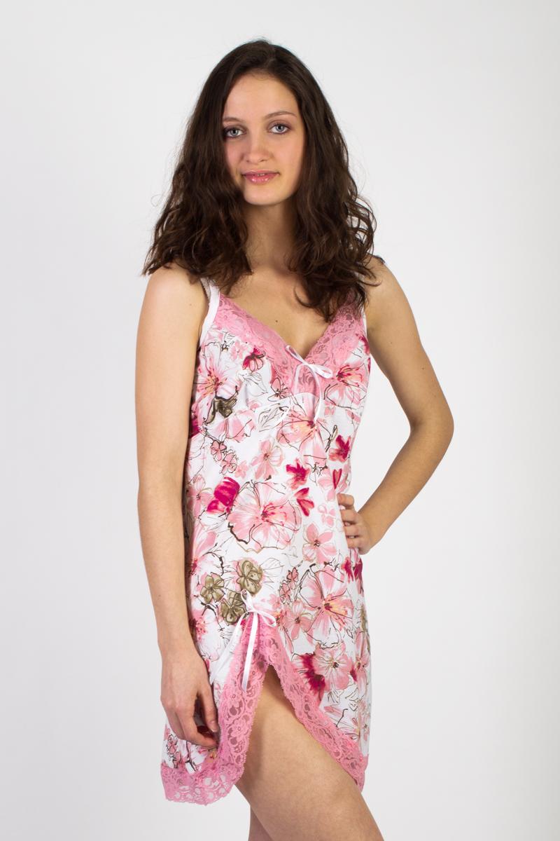 Сорочка ночная Цветочный вальсСорочки<br><br><br>Размер: 48