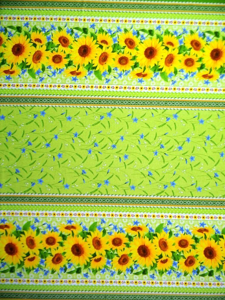 Скатерть из ткани двунитка ПодсолнухСкатерти и салфетки<br><br><br>Размер: 150х150