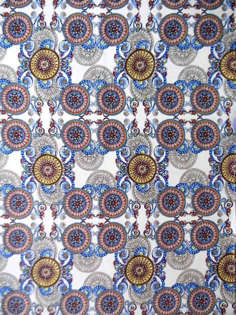 Скатерть из ткани двунитка УзорСкатерти и салфетки<br><br><br>Размер: 180х150