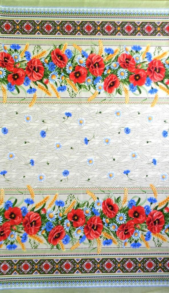 Скатерть из ткани двунитка МакиСкатерти и салфетки<br><br><br>Размер: 180х150