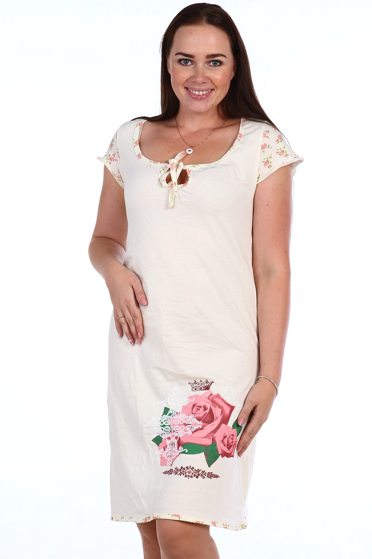 Сорочка женская СентябринаБольшие размеры<br><br><br>Размер: 58