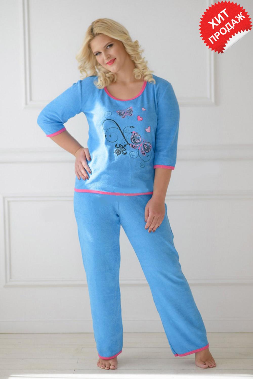 Костюм женский Джесси блуза и брюки<br><br>Размер: 56