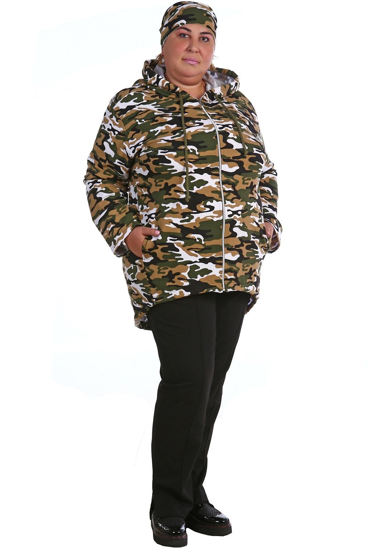 Парка женская Октавия на молнииКофты, свитера, толстовки<br><br><br>Размер: 52