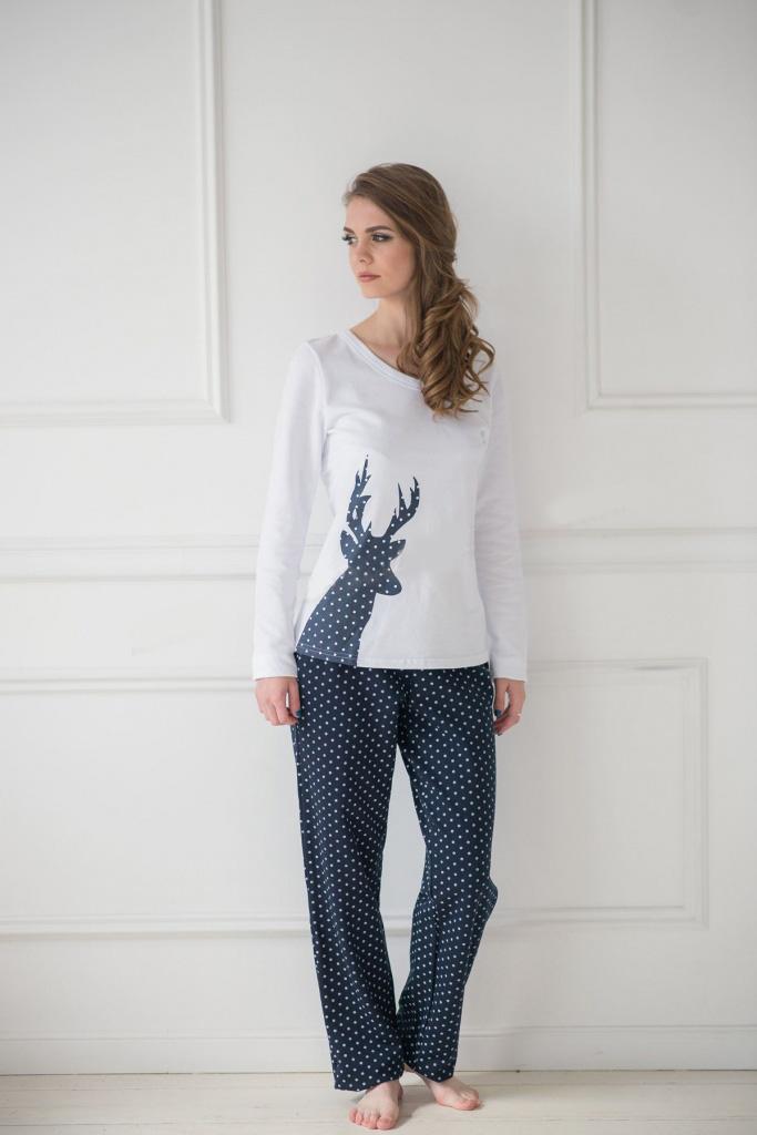 Костюм женский Каролина блуза и брюкиКостюмы<br><br><br>Размер: 52