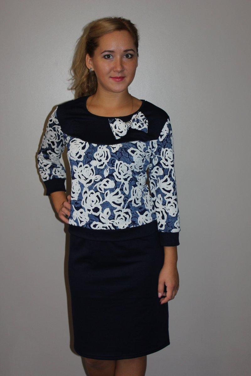 Платье женское Ульяна с круглым вырезомПлатья и сарафаны<br><br><br>Размер: 50