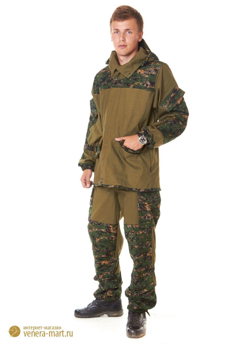 Костюм для охоты и рыбалки Горка-2Одежда для охоты и рыбалки<br><br><br>Размер: Лес-камыш m03a