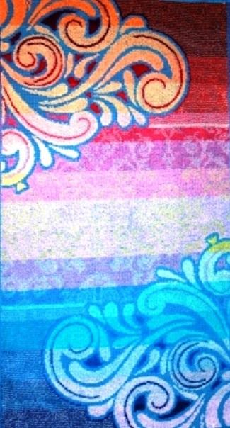 Полотенце махровое Кружевное-2<br><br>Размер: 40x70 см.