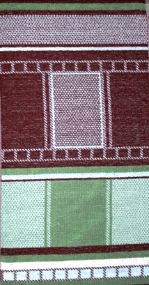 Полотенце махровое Сауна квадраты<br><br>Размер: 40x70 см.