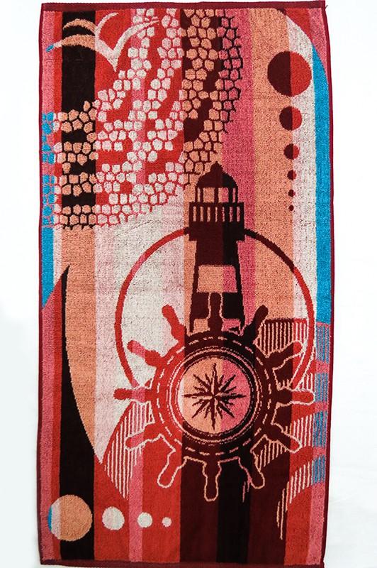 Полотенце махровое Морской маяк<br><br>Размер: 50х90 см.