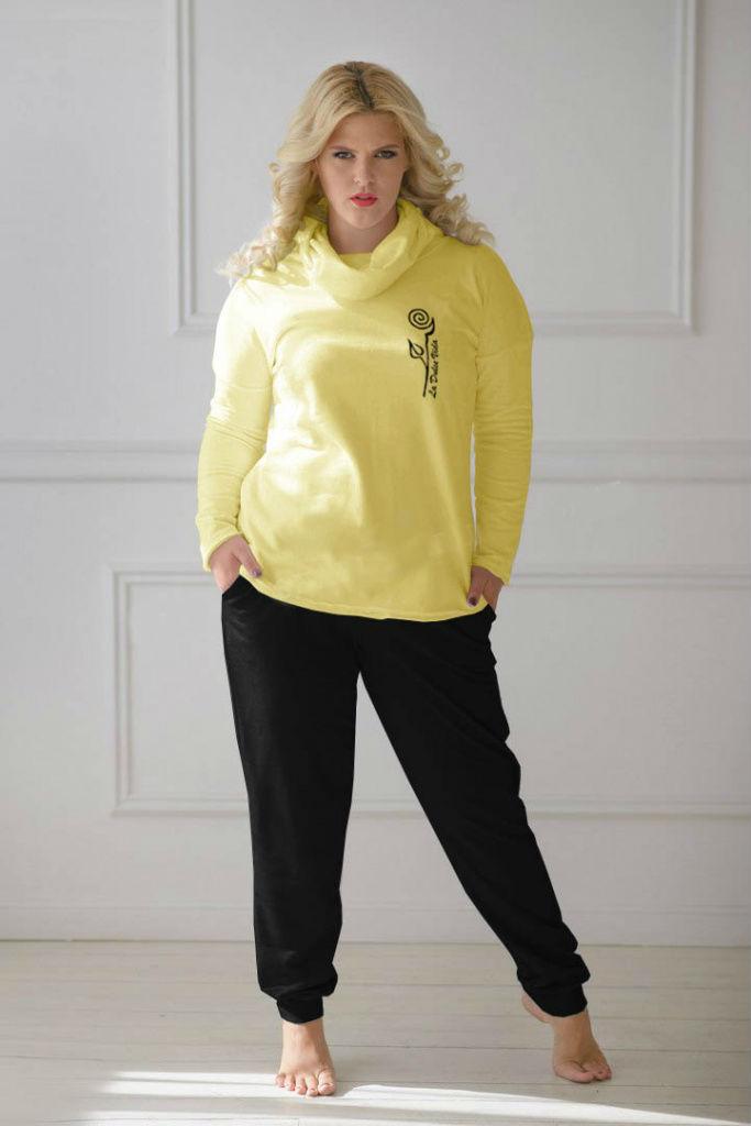 Костюм женский Дебора блуза и брюкиКостюмы<br><br><br>Размер: Сирень