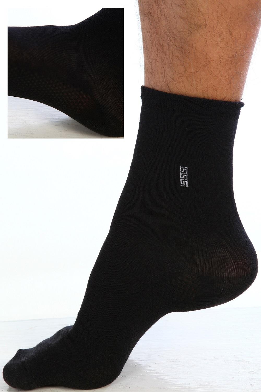 Носки мужские Эверест короткиеНоски<br><br><br>Размер: Чёрный
