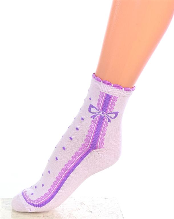 Носки подростковые Долли для девочекНоски, гольфы<br><br><br>Размер: Голубой