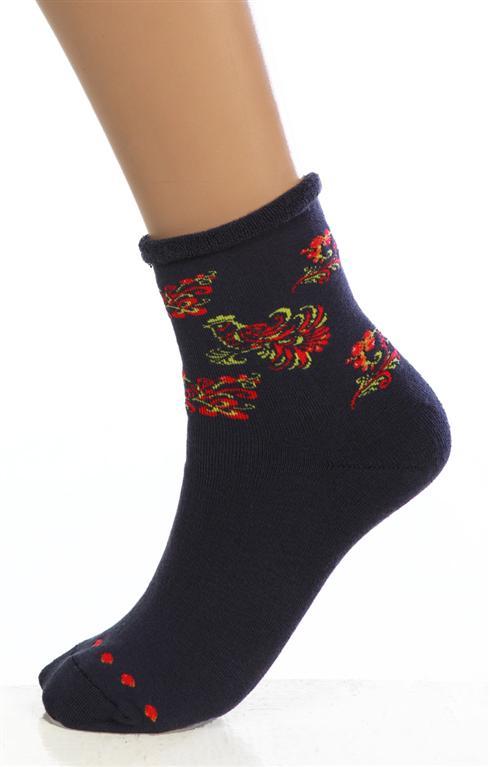 Носки женские ХохломаНоски<br><br><br>Размер: Темно-серый