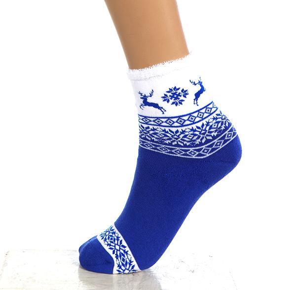 Носки женские ОлененокНоски<br><br><br>Размер: Синий