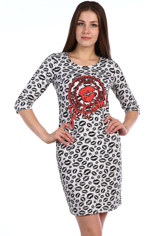 Платье женское Братислава с круглым вырезомПлатья и сарафаны<br><br><br>Размер: 54