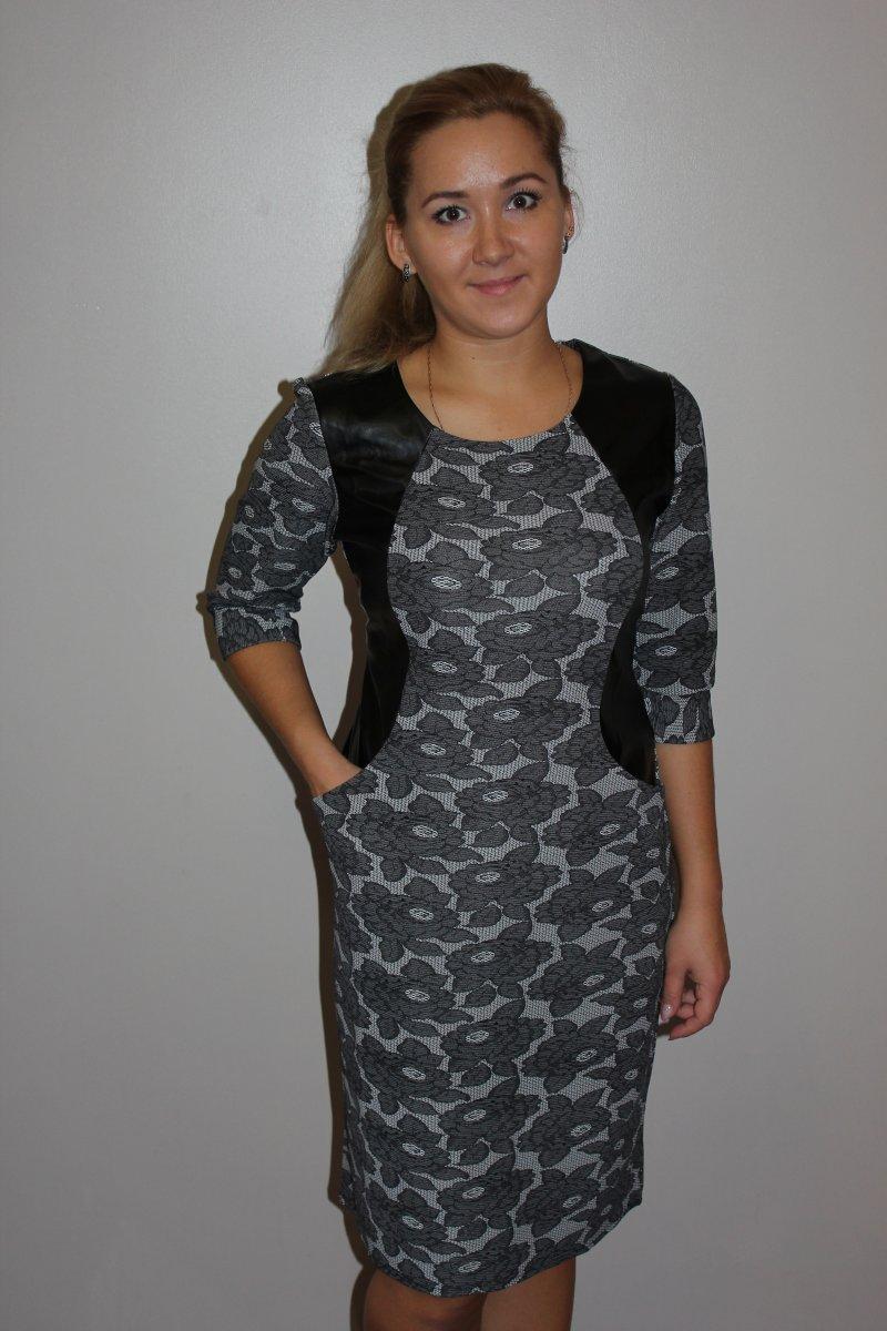 Платье женское Рута с карманамиПлатья<br><br><br>Размер: 60
