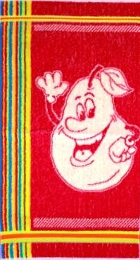 Полотенце махровое Забавные фрукты 30х60Детские изделия<br><br><br>Размер: Клубника