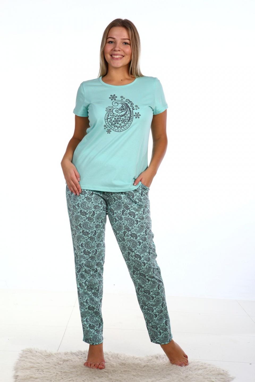 Костюм женский Халмари футболка и брюки<br><br>Размер: 54
