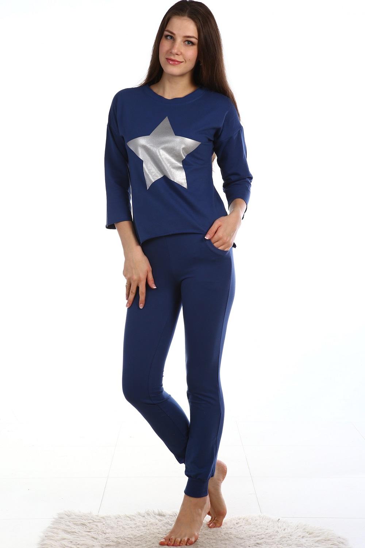 Костюм женский Зодиак блуза и брюкиКостюмы<br><br><br>Размер: 50