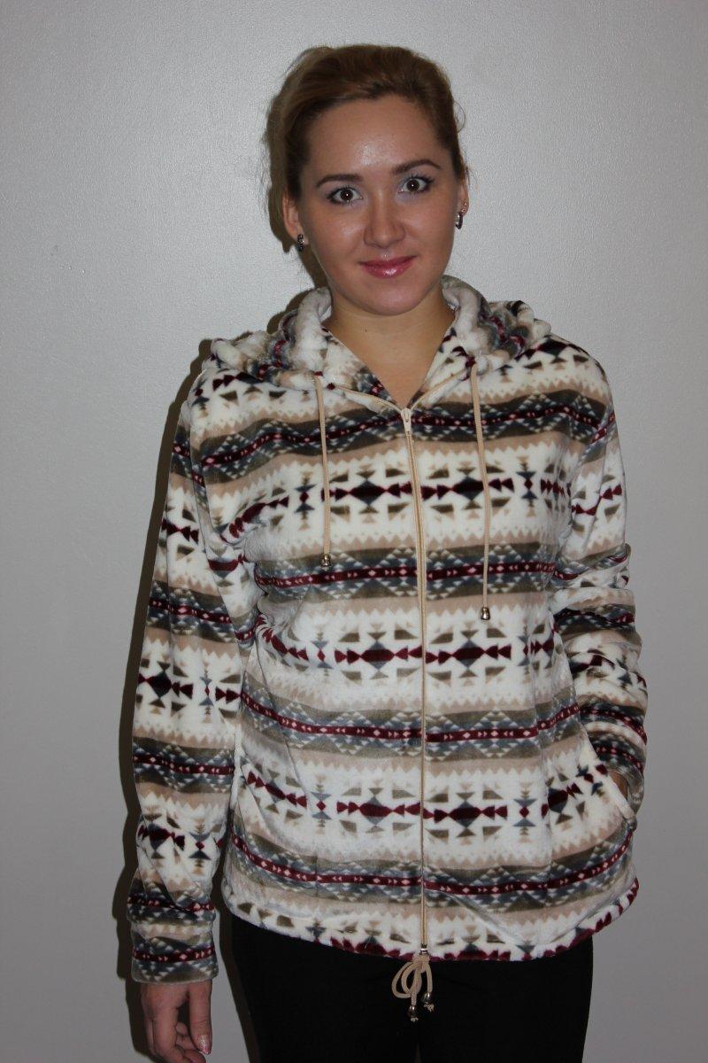 Куртка женская Северное сияние с капюшономКуртки и ветровки<br><br><br>Размер: 58