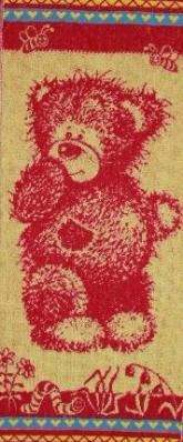 Полотенце махровое Мишка Тедди30х80Подарки на Новый год и Рождество<br><br><br>Размер: 30х80