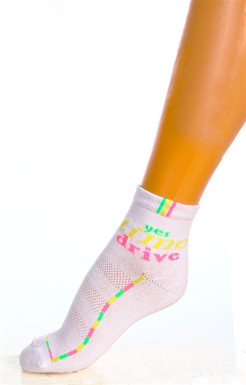 Носки подростковые Time Drive для девочекНоски, гольфы<br><br><br>Размер: Желтый