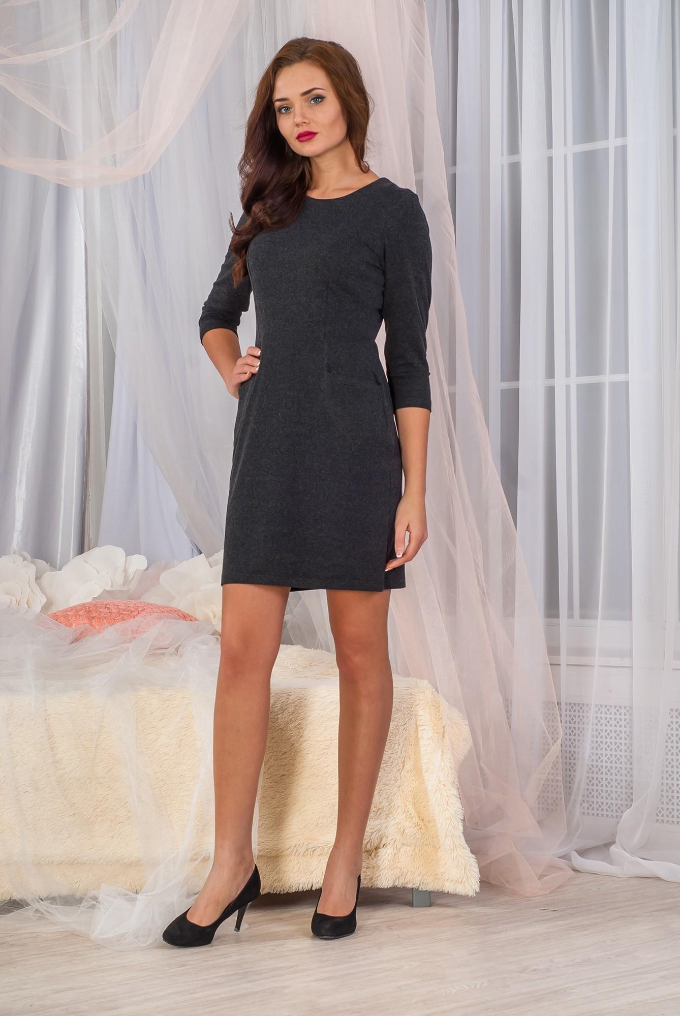 Платье женское Дебора с карманамиПлатья и сарафаны<br><br><br>Размер: 48