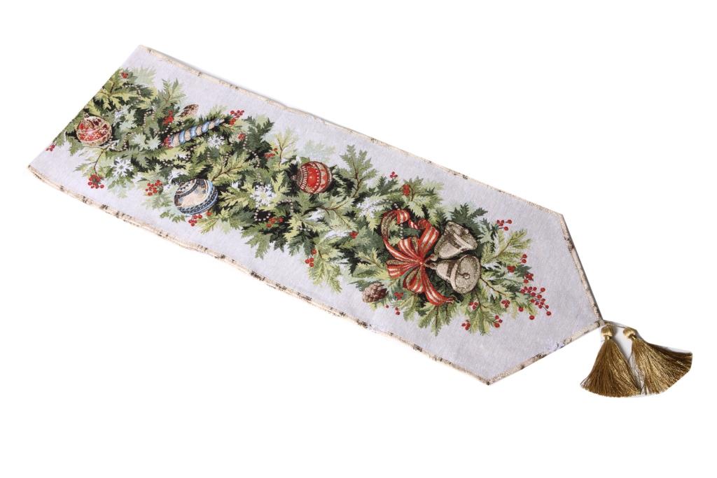 Салфетка гобеленовая Щелкунчик 1Подарки на Новый год и Рождество<br><br><br>Размер: 220х32 см