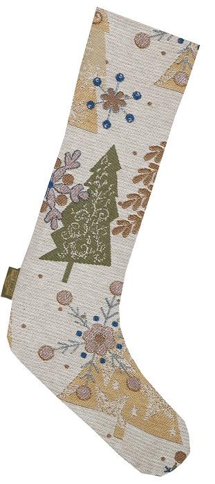 Сапожок гобеленовый Новогодний для подарковСувениры<br><br><br>Размер: 47х26х14 см