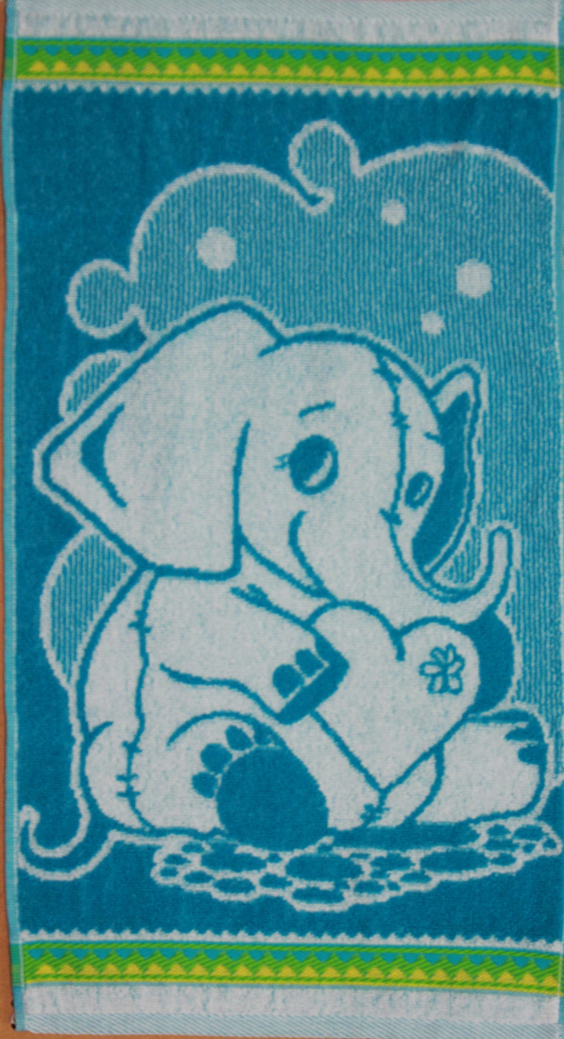 Полотенце махровое Слонёнок 30х60Подарки на Новый год и Рождество<br><br><br>Размер: 30х60