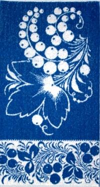 Полотенце махровое Ягодки 30х60Подарки на Новый год и Рождество<br><br><br>Размер: 30х60