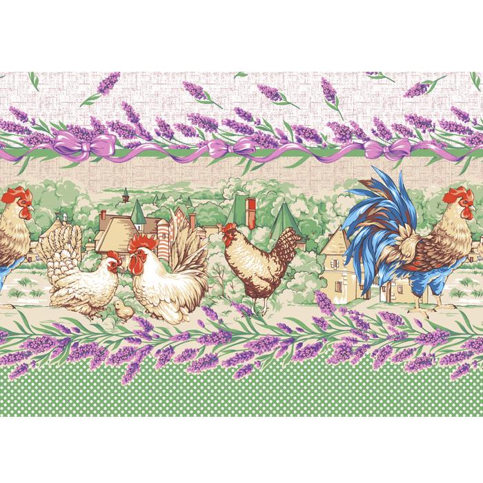 Полотенце вафельное кухонное Прованские травыПодарки на Новый год и Рождество<br><br><br>Размер: 50х60