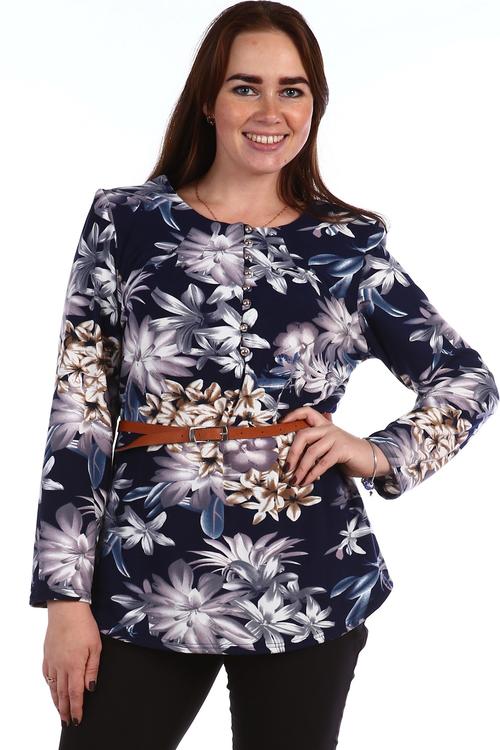 Туника Гидра на пуговицахТуники, рубашки и блузы<br><br><br>Размер: 58