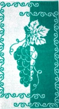 Полотенце махровое Виноград 30х60Подарки на Новый год и Рождество<br><br><br>Размер: 30х60