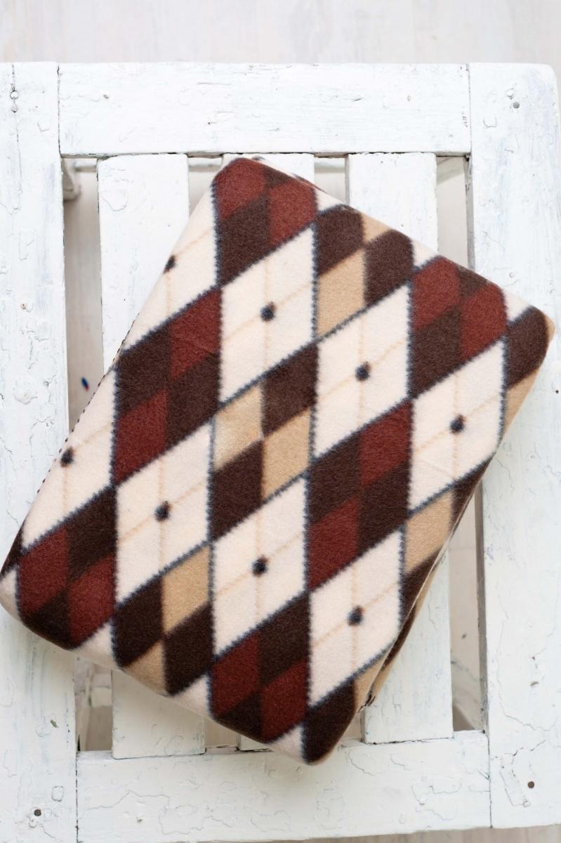Плед флисовый РомбыДетские покрывала, пледы и наволочки<br><br><br>Размер: 150*220